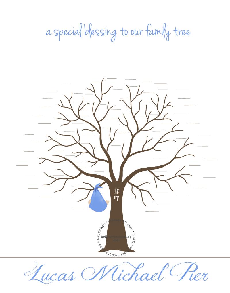 baby shower fingerprint tree template new baby fingerprint tree hd