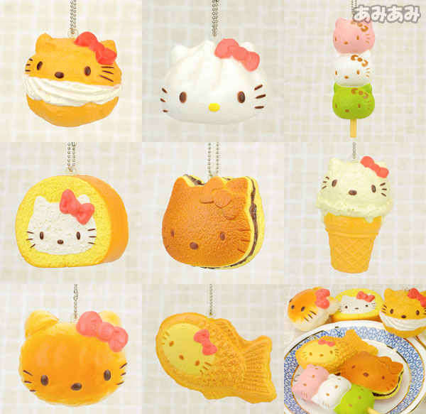 Re-ment Hello Kitty Sweets Petit Pastries Squishy ? Uber Tiny ? Online Store Powered by Storenvy