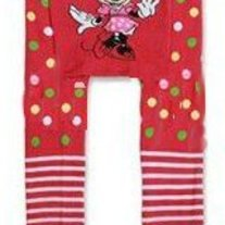 Minnie Mouse Legging Pants in Pink with Dots