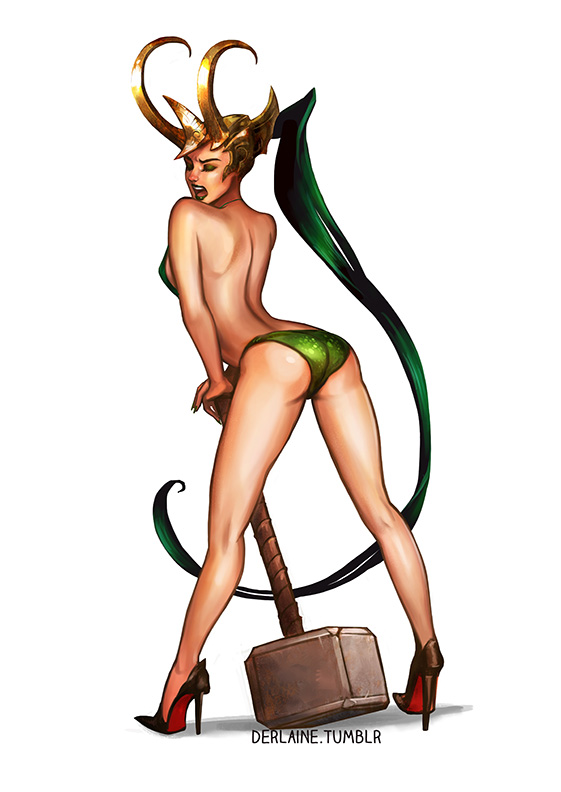 Derlaine | Lady Loki Mjolnir | Online Store Powered by Storenvy: derlaine.storenvy.com/products/4531810-lady-loki-mjolnir