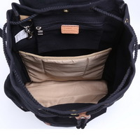 Fantastic canvas laptop daypack backpack - Thumbnail 3