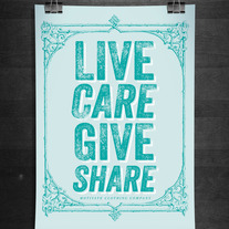 Live Care Give Share Print