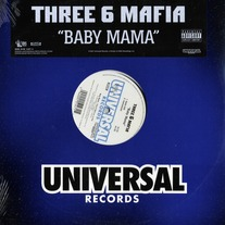 "Three 6 Mafia - Baby Mama (Single) 12"" Vinyl"