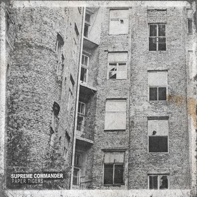 "Supreme commander - paper tigers (12"" orange/white vinyl)"