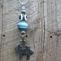 Horse, Bird & Star Pendant