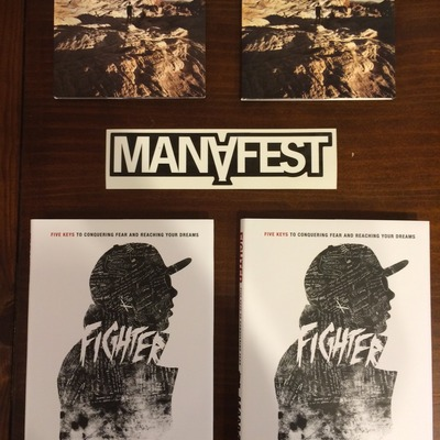 2 for 1 fighter book & cd