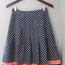 Polka Dot Skirt - Forever 21