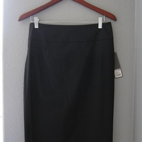 Merona Black Pencil Skirt NWT