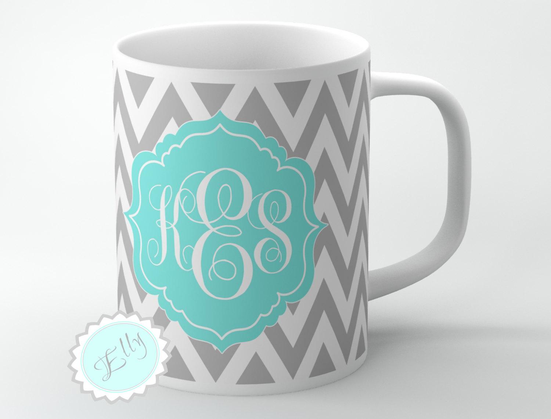 Image Result For Monogram Coffee Mugs