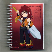 Notebook S - Elemental Chibi Bishonen: Fire