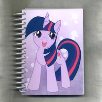 Notebook S - My Little Pony FiM: Twilight Sparkle (Fanart)