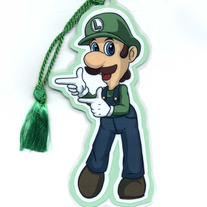 Bookmark - Super Smash Bros. BRAWL: Luigi (Fanart)