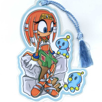Bookmark - Sonic the Hedgehog: Tikal (Fanart)