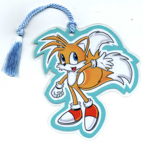 Bookmark - Sonic the Hedgehog: Tails (Fanart)