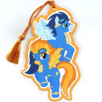 Bookmark - My Little Pony FiM: Wonderbolts (Fanart)