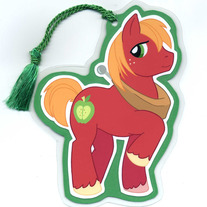 Bookmark - My Little Pony FiM: Big Mac (Fanart)