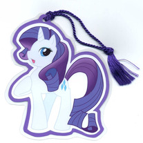Bookmark - My Little Pony FiM: Rarity (Fanart)