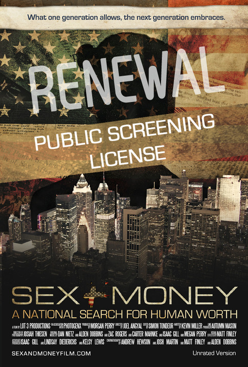 Public Screening License RENEWAL