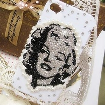 New Bling Marilyn Monroe Rhinestones iPhone 4/4s Case Design #3
