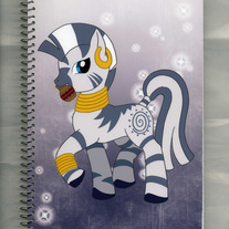Notebook M - My Little Pony FiM: Zecora (Fanart)