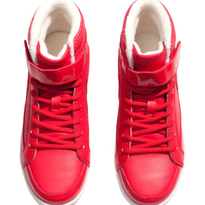 BRAND NEW H&M Red Sneakers · Price$ · Online Store Powered by Storenvy