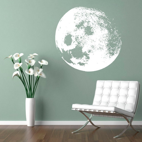 Moon Home Decor Urban Sticker Vinyl Wall Decal On Storenvy