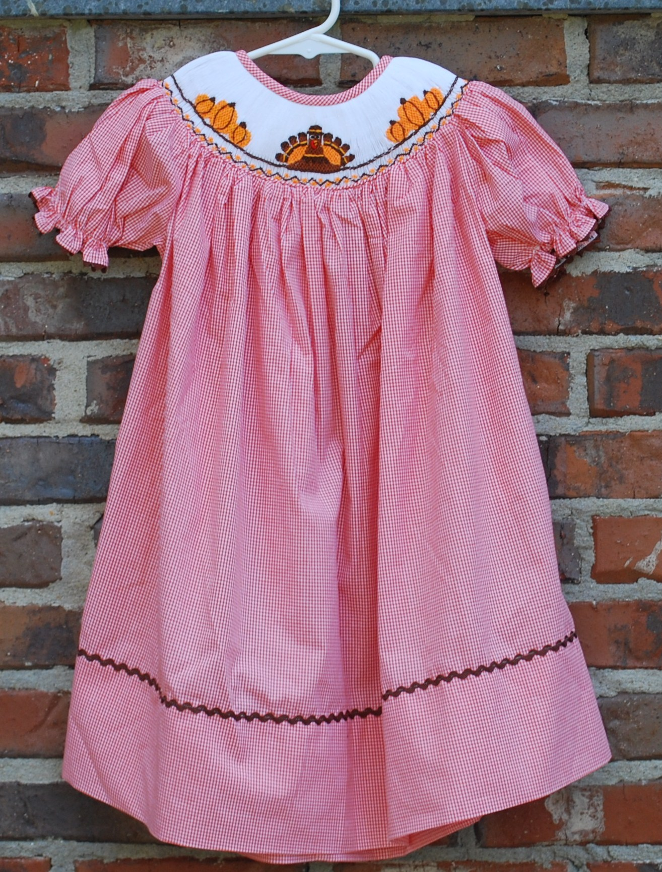 Turkey Smocked Dress