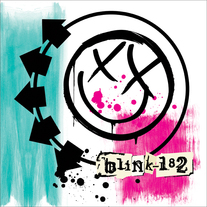 "BLINK-182 ""Self-Titled"" Limited Edition 2xLP pink/green swirl"