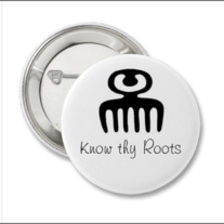 Know Thy Roots Pin