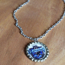 Ravenclaw Harry Potter Inspired Bottlecap Necklace