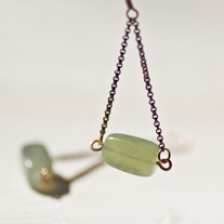 Hanging Moss Earrings