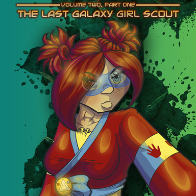 Last res0rt - the last galaxy girl scout