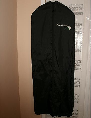 Clergy/wedding garment bag