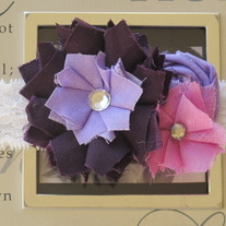 Chic Shades of Purple headband