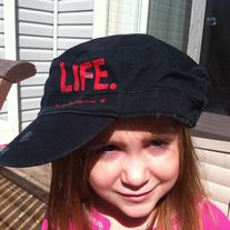 """LIFE."" Military Hat - Black or Grey"