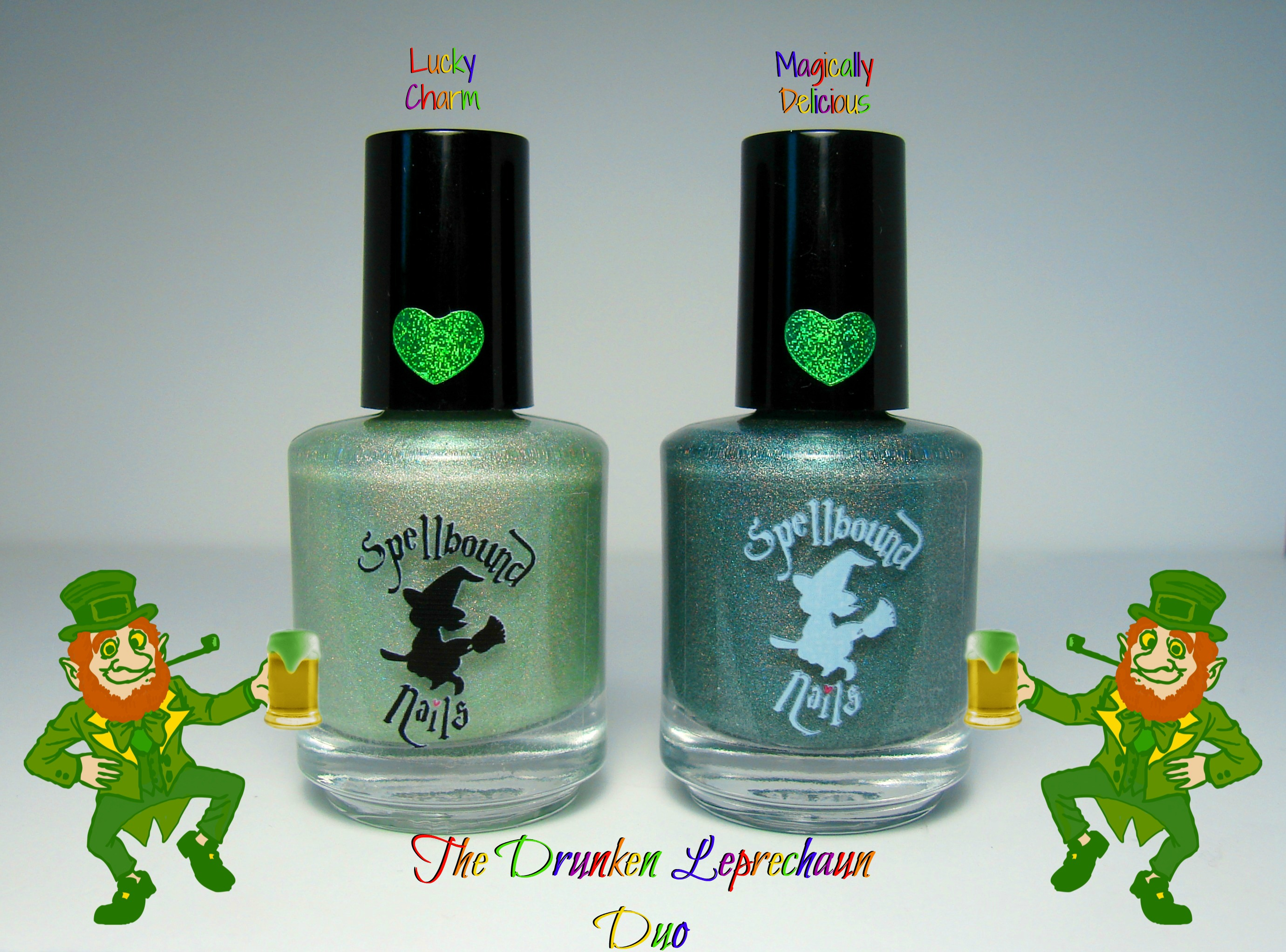 Lucky Charm - Custom Light Green Holographic Glow in the Dark St ...