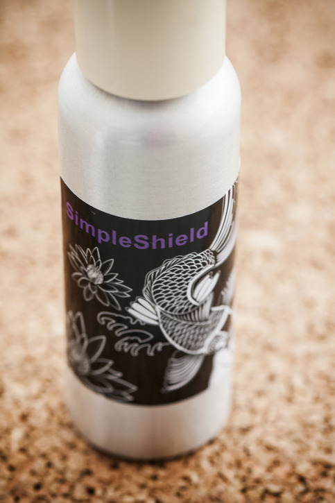 Simpleshield tattoo aftercare lotion on storenvy for Lotion for tattoo aftercare