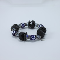 Sparkle Black and Blue Bracelet