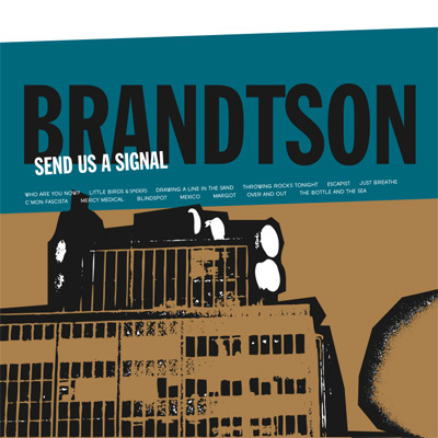 Brandtson - send us a signal vinyl lp