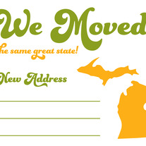 We Moved Postcards - Same State