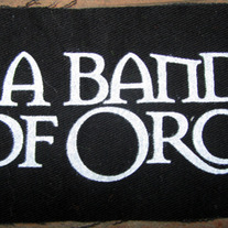 A Band of Orcs - 5x4 Pocket Patch