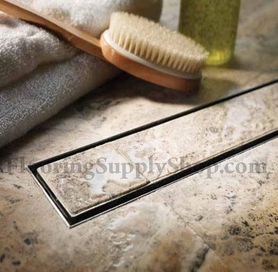 quartz plain edge linear shower tile channel 40 thumbnail 1