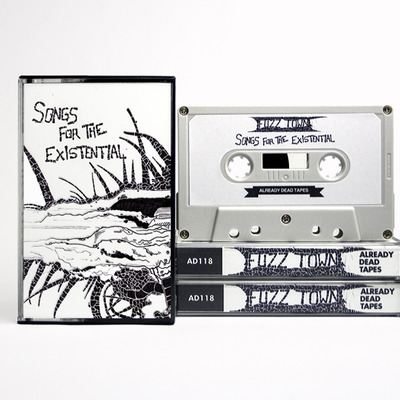 Fuzz town 'songs for the existential' cassette (ad118)