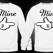 Mine Couples Crewnecks (White)