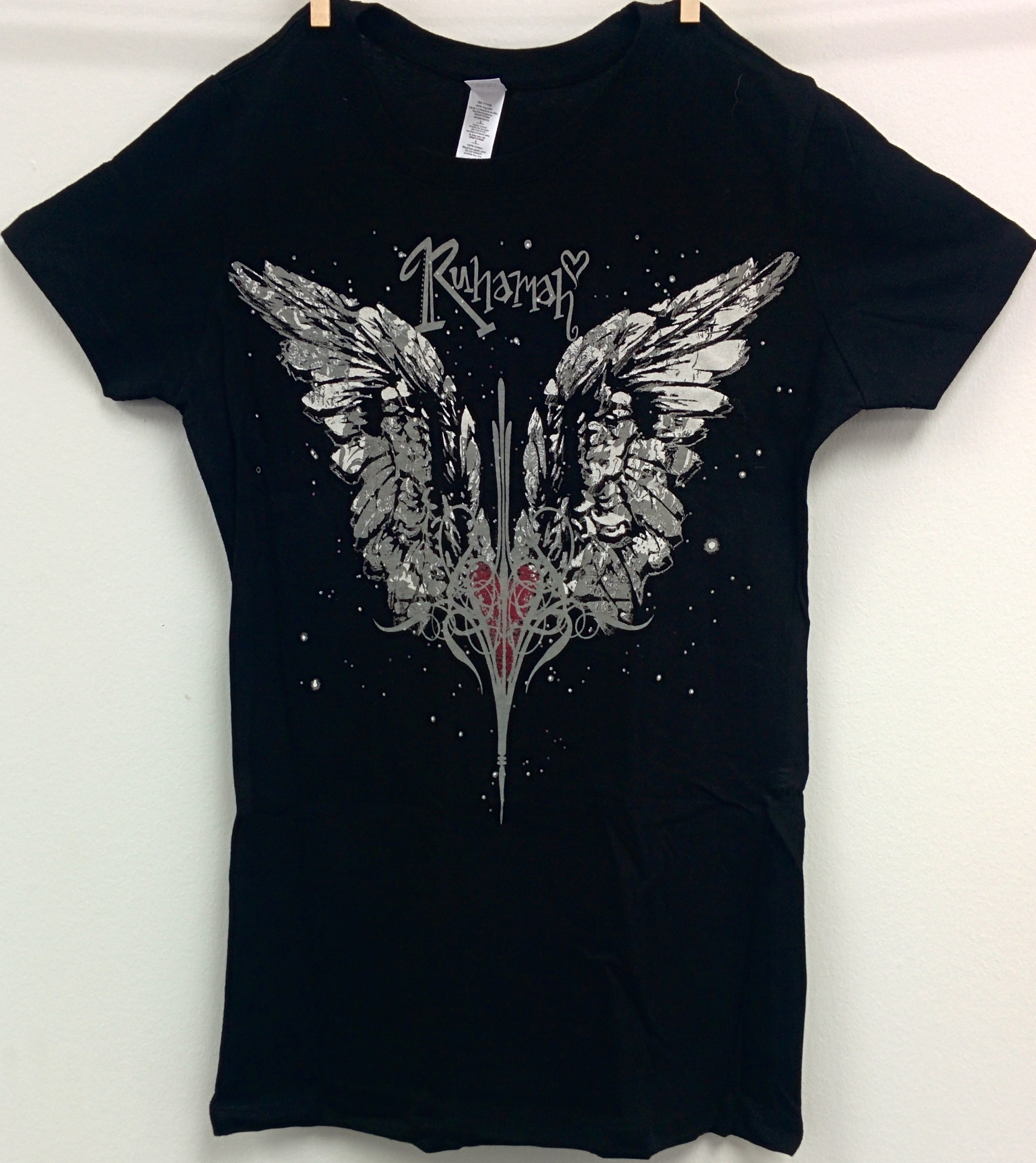 Ruhamah wings - black