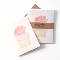 Yummy Cupcake Card Set of 6