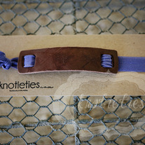 cowboy leather headband knotietie