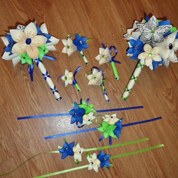 Prettypaper flower shop paper flower bouquet as seen on slice tv paper flower bouquet as seen on slice tv bridal bridesmaid medium thumbnail 2 mightylinksfo