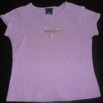 Purple Nautica Shirt Size 2T