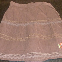 Brown Minnie Skirt-Disney-Size 3T